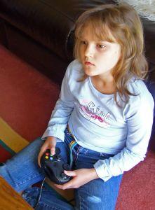 Lost in a video game daze.