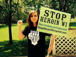 I won't let heroin win!